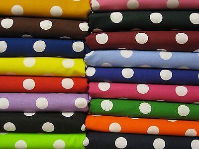 PORTA CRIB SHEET Polka Dot Fabric UPick Nickle quarter  blue purple black pink