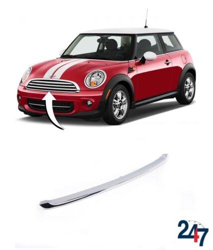 Neuer Mini R56 R55 R57 R58 LCI Vorne Unten Kühlergrill-bereich Chrom Zierleiste