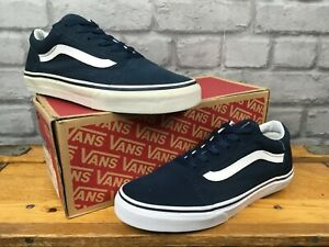 Details about VANS UK 5.5 EU 38.5 OLD SKOOL NAVY WHITE SUEDE/CANVAS  TRAINERS CHILDRENS,LADIES