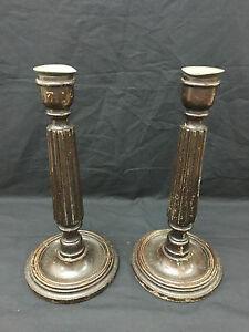 antica-Coppia-di-candelieri-inglesi-in-legno-fine-800