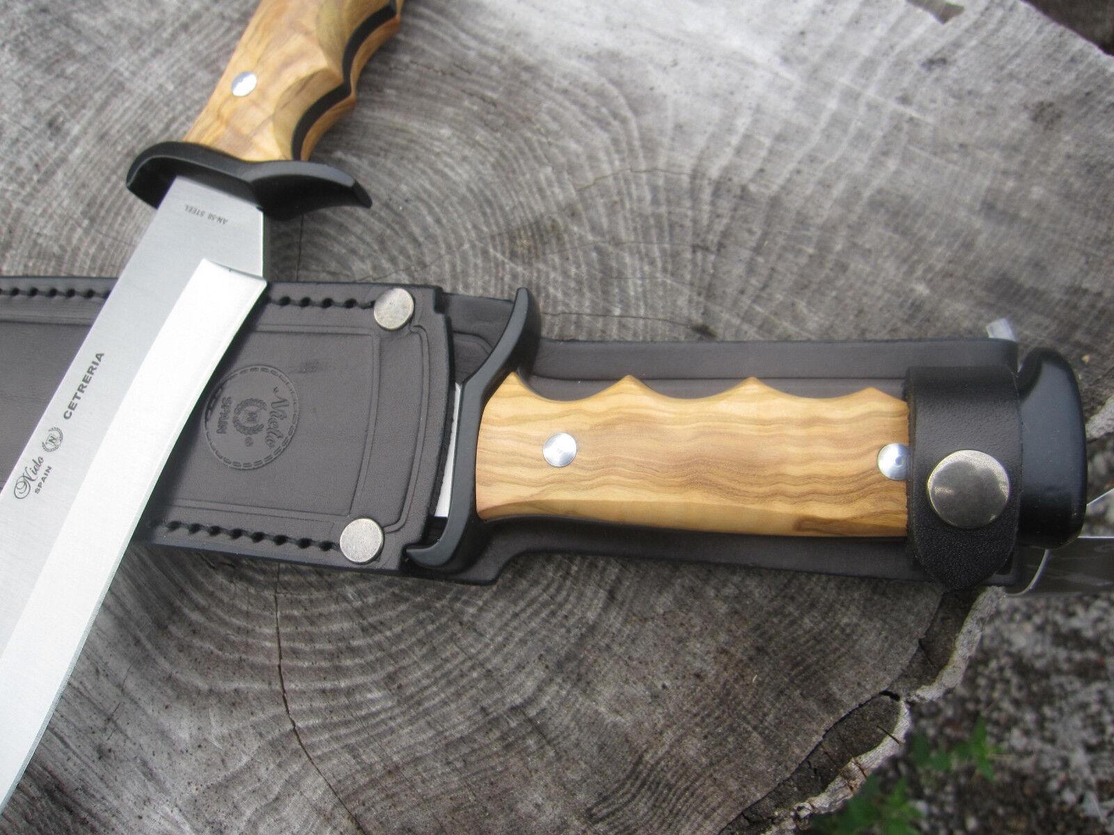 Nieto Messer Machete Machete Machete Gürtelmesser Jagdmesser Outdoormesser Outdoor Jagd 122523 0f9625