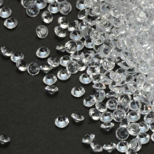 5000PCS 4.5mm Diamond Table Confetti Rhinestone Wedding Party Bling Decor