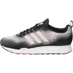 new style 066a2 0bc93 Image is loading MENS-ADIDAS-ZX-900-WEAVE-RED-BLACK-GREY-