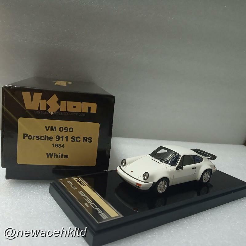 Porsche 911 SC RS  1984 blanc MAKE UP MODEL 1 43  VM090  livraison directe et rapide