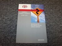 2015 Toyota Camry Navigation System Owner Owner's Operator Manual Le Se Xle Xse