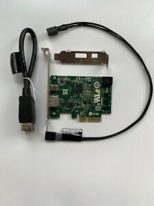 HP-Thunderbolt-2-Karte-753732-001-Pcie-x4-I-O-Card-With-751366-001-amp-751365-001