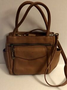 Image Is Loading Fossil 1954 The American Classic Vintage Brown Leather