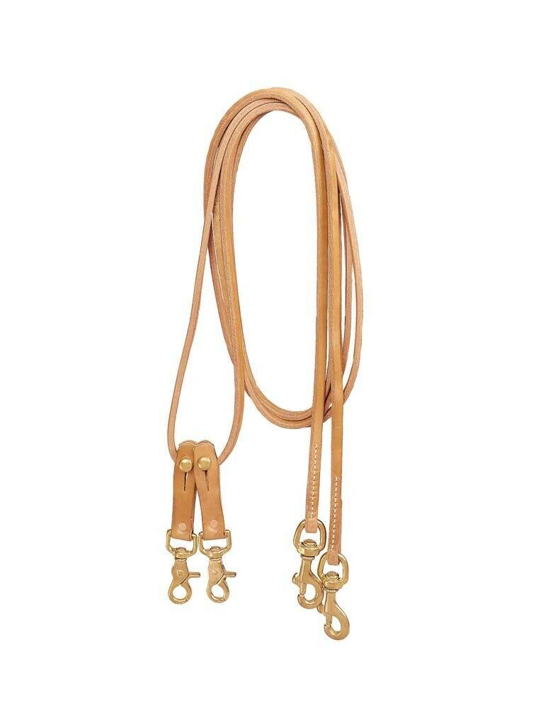 Tory Leather Favorite Pulley Draw Reins