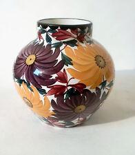 """30s Keramik 20 cm Schramberg Vase """"2822"""" ceramic handpainted céramique annees 30"""
