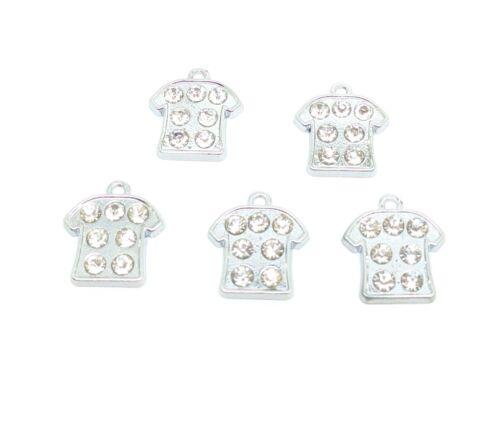 20 Mezclados Esmalte encantos para la fabricación de joyas Artesanía Llavero Pulsera Collar