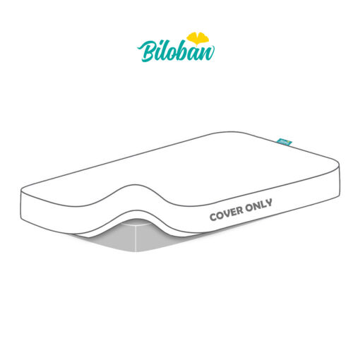 """Crib Mattress Pad Cotton Surface Cover Baby Toddler Bed Waterproof 52""""x 28"""""""