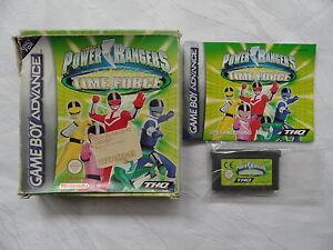 Power Rangers - Time Force für Game Boy Advance - GBA - OVP - CIB - komplett!!