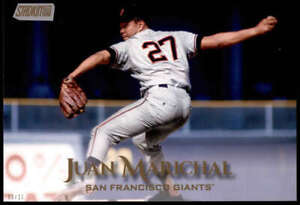Juan Marichal 2019 Topps Stadium Club 5x7 Gold #225 /10 Giants