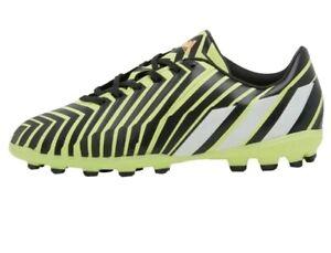 Adidas predator absolado Firm Ground Yellow Black Football Boots UK 10 infant