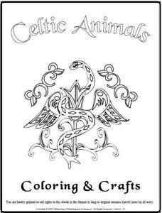 Malbuch 85 Malvorlagen Keltische Farbetiere Ausmalbilder Als Pdf Kinder Malen Ebay