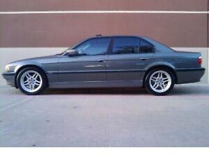 2001 BMW 7-Series 740i Sedan