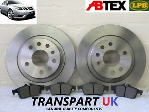 SAAB 9-3 93 VECTOR SPORT 1.9 TiD 2.2 2.0 FRONT /& REAR BRAKE PADS CHECK SIZE