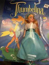 Vintage 1993 Thumbelina Doll MOC Blue Box Don Bluth