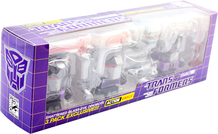 THE Loyal Transformers vetri rotti subjects-Viola SDCC in tutto il mondo libero S/H
