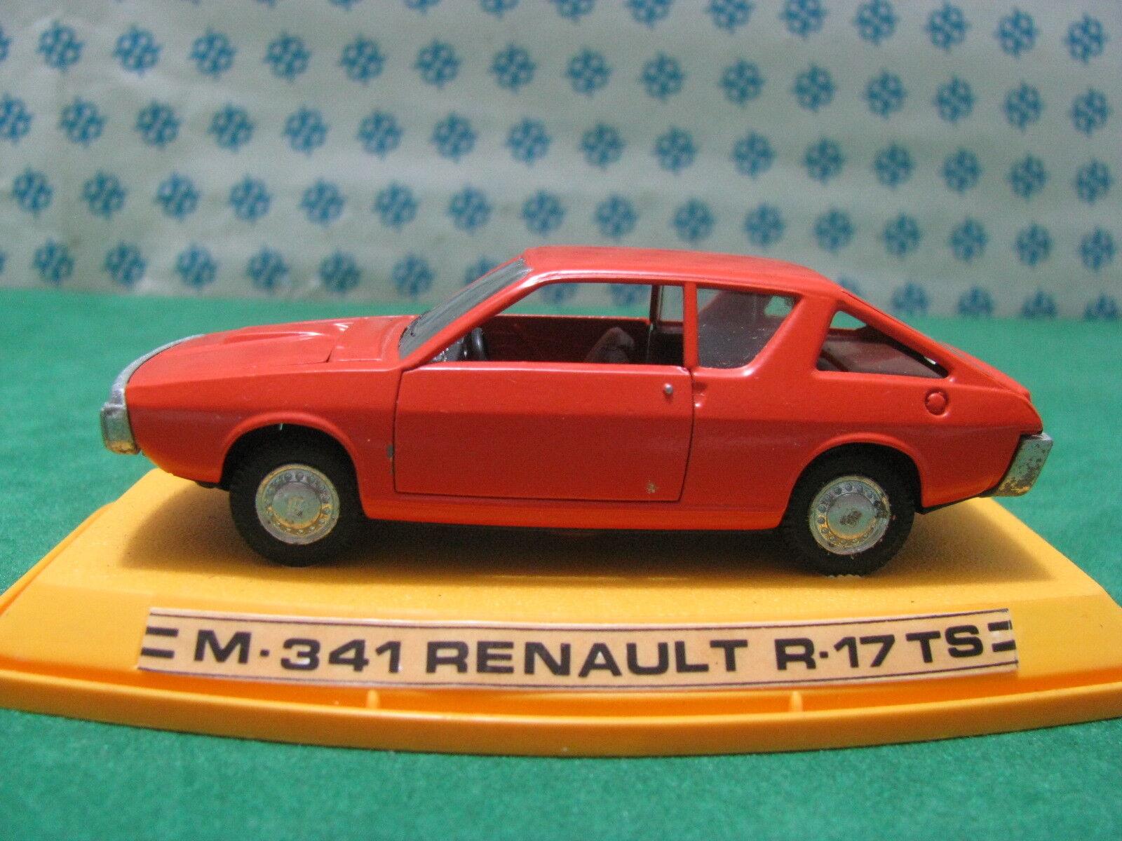 Vintage - Renault 17 Ts - 1 43 Auto-Pilen M-341