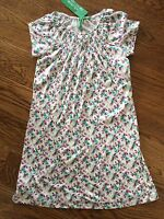 United Colors Of Benetton Sz M 7 8 Girls White Floral Dress