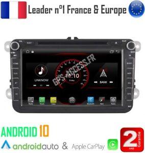 Autoradio 8 Android 10 Gps Volkswagen Golf 5 Golf 6 Beetle Eos Touran T5 Ebay