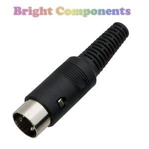 Enchufe Din En línea 5 Pin Cable de Montaje 240