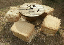 XLARGE Wooden Spool Cable Wire Reels, Great for tables, goats. H29 x D36