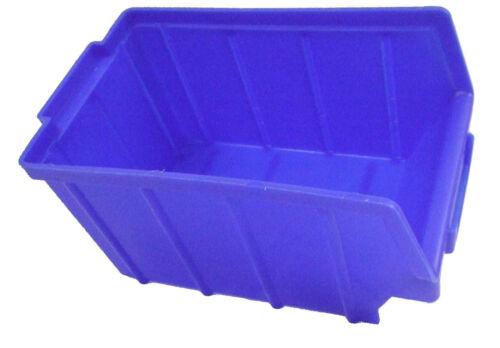 Sichtlagerboxen blau Gr 3 Stapelbox Lagerkisten Lagerbox 52 Stück