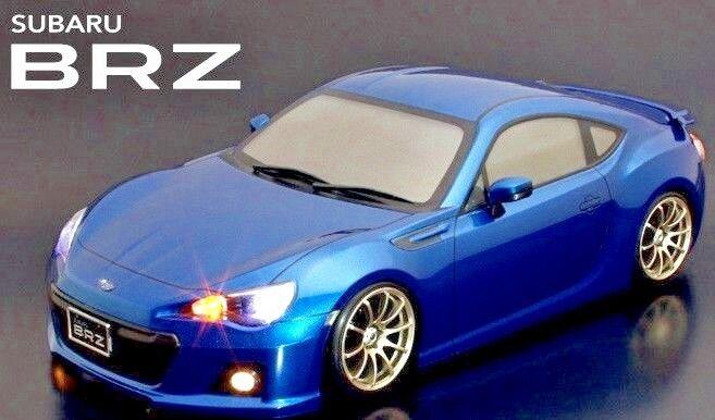 1/10 Rc Auto Carrozzeria Subaru Brz Frs Toyota 86 Carrozzeria 190mm