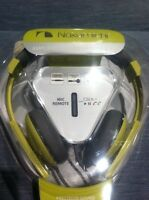 1850 Nakamichi Nk2000 Headphones Amplified Stereo With Mic Yellow Remote