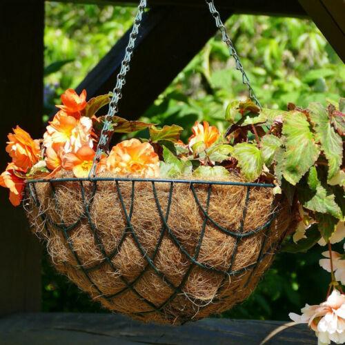 Pflanzeinlage für Pflanzkörbe und Blumenampeln 40cm Kokos-Einleger Kokosfaser