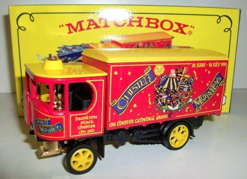 MATCHBOX  - Y-37 1929 GARRETT STEAM WAGON
