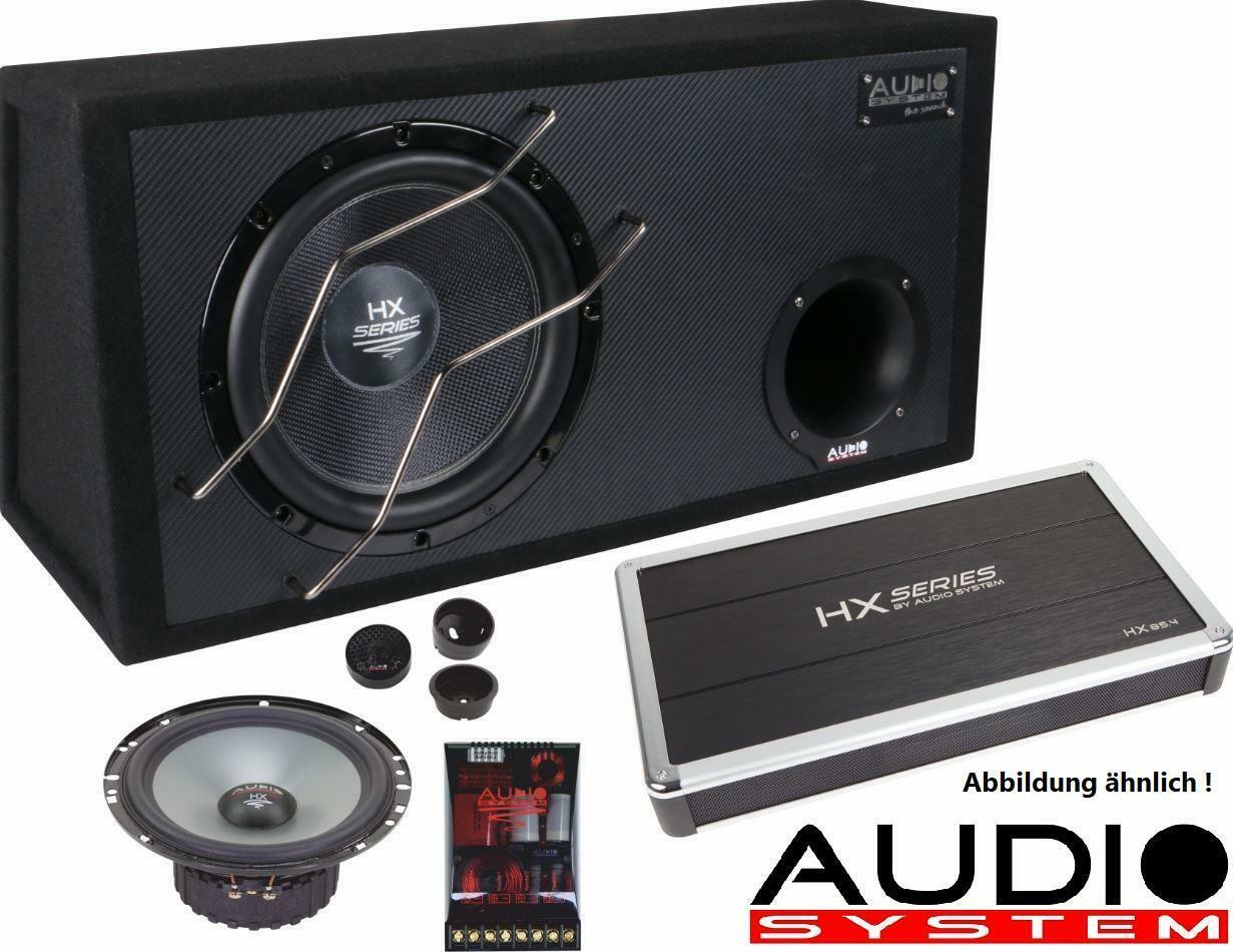 Sistema de audio HX 10 sq 250 mm High End subwoofer HX-series sq sub