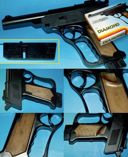 DIAMOND MATIC LINE EDISON GIOCATTOLI OVP CAP GUN 80er AMORCES 52 SCHUSS PISTOLE