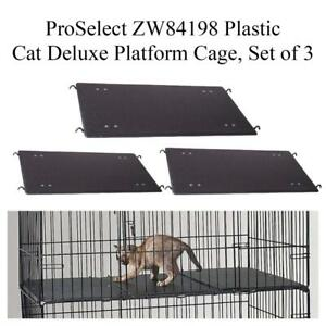 NEW ProSelect ZW84198 Plastic Cat Deluxe Platform Cage, Set of 3 Condtion: New. PP (B28)(3633922) Markham / York Region Toronto (GTA) Preview