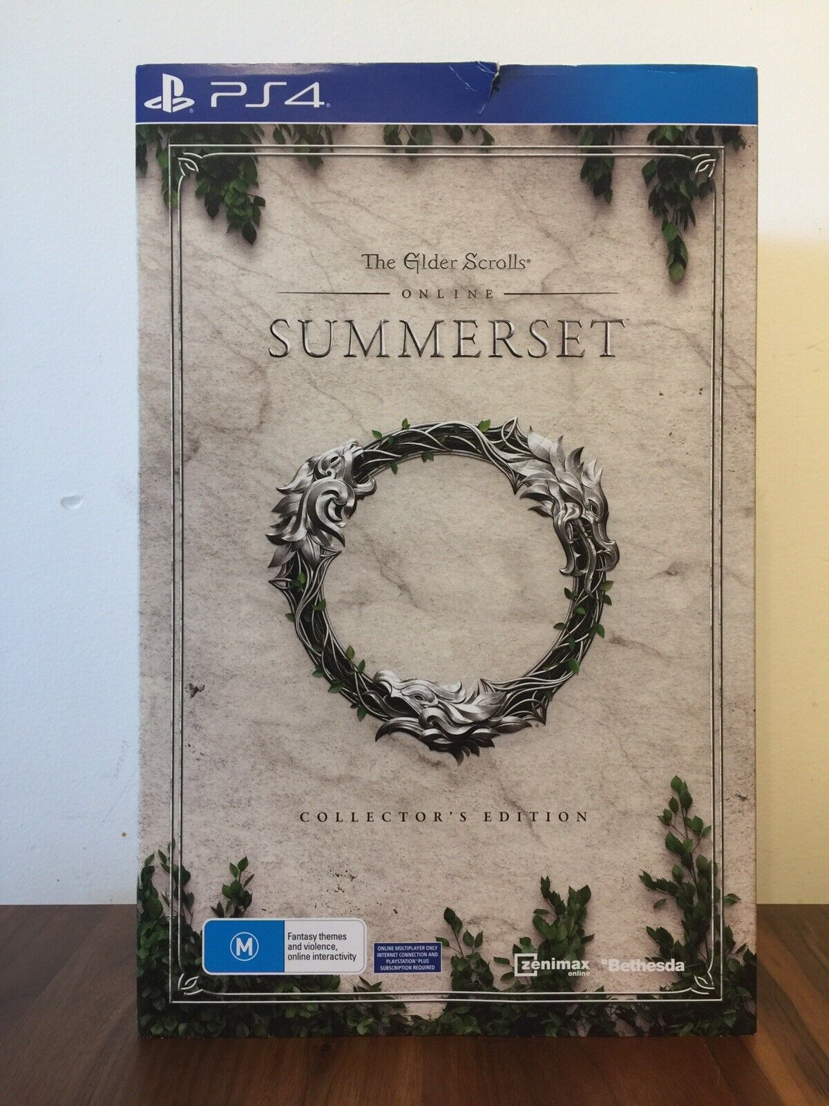 The Elder Scrolls Online  Summerset (Collector's Edition) PS4 Brand New