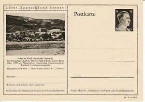 German-Reich-Stationery-P-305-Furth-IN-Forest