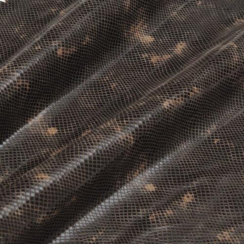 Reptil Design Effektleder Echtes Leder Lammleder Lammvelour Echse Lamb Leather