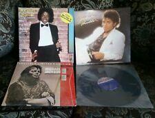 (4) MICHAEL JACKSON LP RECORD LOT THRILLER OFF THE WALL TODO MI AMOR ERES TU ETC