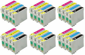24-INKS-FOR-EPSON-C64-C66-C84-C86-CX3600-CX3650-CX4600-CX6400-CX6600