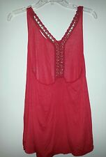 Alloy Apparel Tank with Ornate Straps - NWOT - L/XL