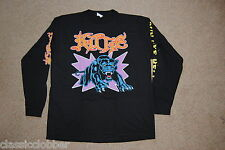 KITTIE PANTHER ATTACK LONG SLEEVE T SHIRT XL NEW OFFICIAL SPIT ORACLE BAND UNTIL