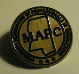MAPC-Lapel-Pin-Vintage-Mississippi-Association-Of-Professionals-In-Corrections