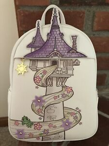 Tangled Mini Backpack Loungefly New With Tags Only Taken Of Package For Photos Ebay