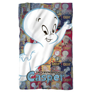 CASPER-the-Friendly-Ghost-and-COMIC-BOOK-COVERS-Lightweight-Fleece-Throw-Blanket