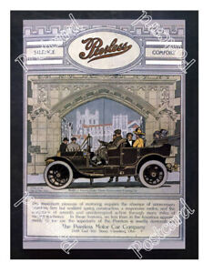 Historic-American-automobiles-Perless-1910-Advertising-Postcard