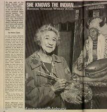 Artist Elizabeth Lochrie - Montana Mother Of The Year+Blackfoot,Blood,Clark,Fish