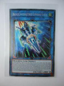 BLHR-DE050 Hochgeschwindigkeitsroid Gummiband-Schütz   Secret Rare 1.Auflage Neu