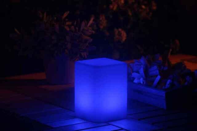 SMOOZ LED Table Hallway Garden Room Yard Patio Outdoor Night Lamp Bar 2570451